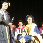 Emma Wiggs receives honorary degree from University of Chichester